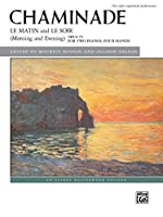 Le Matin and Le Soir Morning and Evening Opus 79: For Two Pianos, Four Hands: Two Copies required for performance (Alfred Masterwork Library)