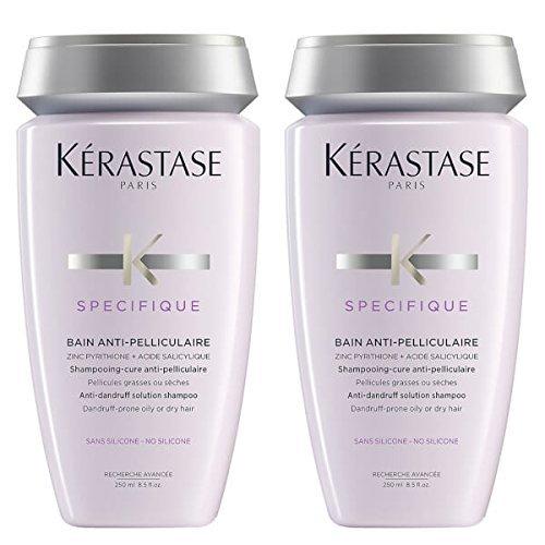 Kérastase, Antischuppen-Shampoo, Specifique Bain Anti-Pelliculaire, 250 ml, 2 Stück