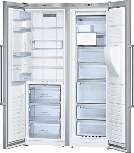 Bosch KAD99PI25 Side-by-Side/A+ / 187 cm Höhe / 391 kWh/Jahr / 346 L Kühlteil / 210 L Gefrierteil/Aquastop/Super-Kühlen