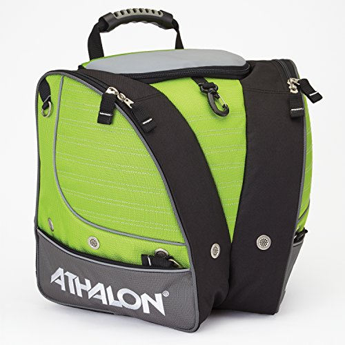 Athalon PERSONALIZEABLE KIDS BOOT BAG/BACKPACK – SKI - SNOWBOARD – HOLDS EVERYTHING – (BOOTS, HELMET, GOGGLES, GLOVES)