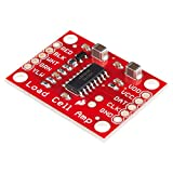 SparkFun Load Cell Amplifier - HX711 Small Breakout Board Read Load Cells to Measure Weight Four-Wire Wheatstone Bridge Configuration Connect to sensors Build Scale Process Control Presence Detection