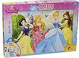 Lisciani Puzzle double face 60 Princesas, 47901