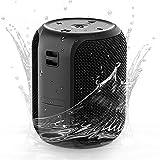 Altavoz Bluetooth Portatil, Mini Altavoces Bluetooth 5.0 Impermeable IPX7 para Ducha Exterior, 28 Horas de Reproducción, 16w Potente Sonido estéreo de 360 °, Altavoz inalambricos con Micrófono