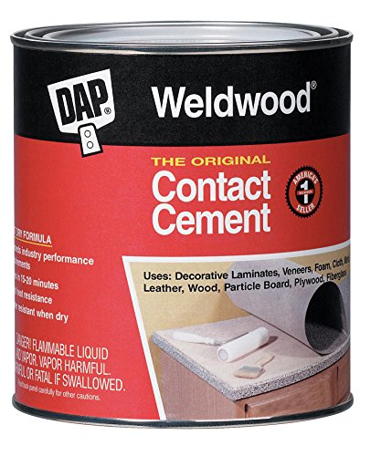 Dap 00273 1 Gallon Tan WeldWood� Original Contact Cement