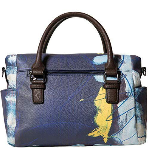 Desigual Love Kaos Loverty Hand Bag Navy