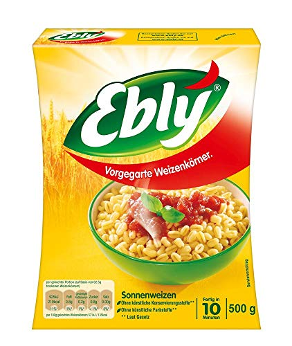 Ebly Sonnenweizen 10-Minuten lose, 7er Pack (7 x 500g)
