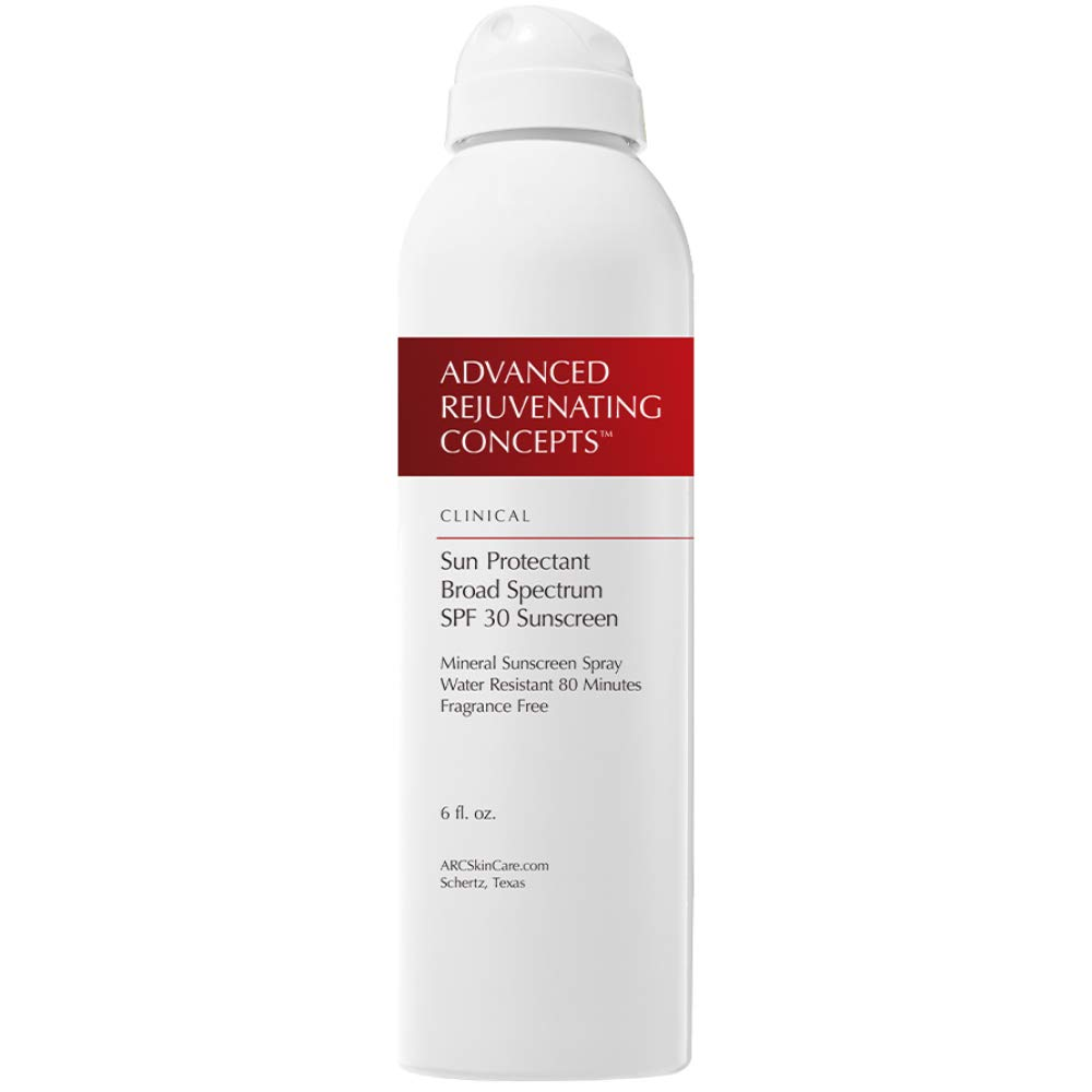 ADVANCED REJUVENATING CONCEPTS Sun Albuquerque Mall Protectant Mineral Limited time sale SPF Spray