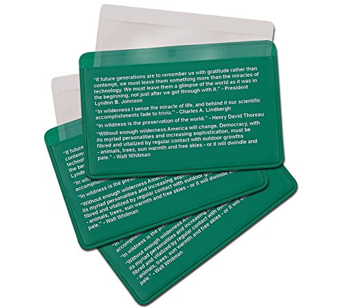 Best Glide ASE Credit Card Size Fresnel Lens Fire Starter and Magnifier Lenses (3 Pack - Green)