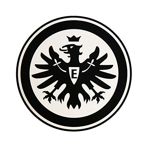 Eintracht Frankfurt Aufkleber Logo schwarz, Sticker, Autoaufkleber SGE - Plus Lesezeichen I Love Frankfurt
