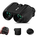 BFULL 10x25 Compact HD Binoculars for Adults and Kids Lightweight with Newest Version