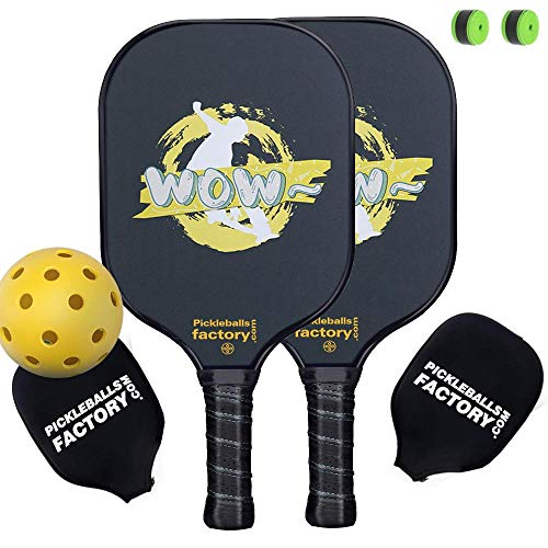 Pickleball Set, Pickleball Paddles, Pickleball Paddle, Pickle Ball Game Set, Pickleball Balls,Pickleball Net Bag, Wow SKI Pickleballs, Pickle Ball Racket, Tennis Balls Pack