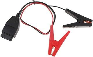 Fenteer メモリセーバー コネクター 12V バッテリー接続 交換 メモリーバックアップ  バッテリークランプ