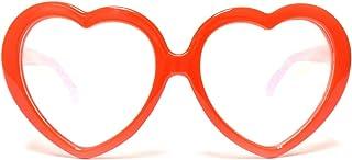 شامبر نظارة جيوفكس احمر على شكل قلوب