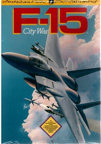 F-15 City Wars Flying Rare Original Nintendo NES Game