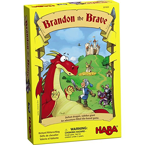 Image of HABA Brandon The Brave - an Adventure Filled Tile Based Game for Ages 5 and up