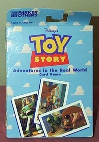 calidad fantástica Toy Story Adventures in the Real World World World Card Game by Parker Brojohers  tienda en linea