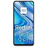 Xiaomi Redmi Note 9 Pro - Smartphone con pantalla FHD+ 6.67' DotDisplay (6 GB+128 GB, cámara cuádruple 64 MP con IA, SnapdragonTM 720G, batería 5020 mAh) Blanco [Version Española]