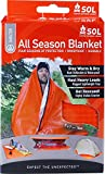 S.O.L. Survive Outdoors Longer S.O.L Windproof All Season Blanket, 5 x 7 ft