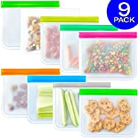 9-Pack FDA Grade Reusable Storage Bags