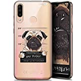Wiko View 3 6.26 Inch Case, Ultra Slim Beware The Puggy Dog