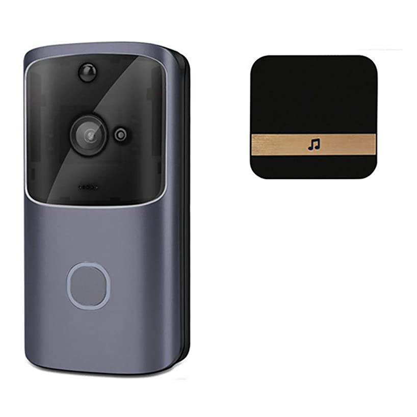 Pinsparkle Wireless WiFi Doorbell Video Phone Door Visual Ring Intercom Home Secure Kits
