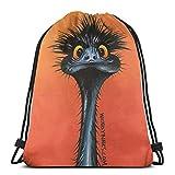 Yuanmeiju Steve Buscemi Boy Bolsa con cordón Sports Fitness Bag Travel Bag Gift Bag
