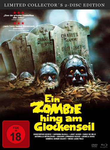 Ein Zombie Hing Am Glockenseil (Limited Collector's 2-Disc Edition) Blu-ray + DVD [Limited Collector's Edition] [Limited Edition]