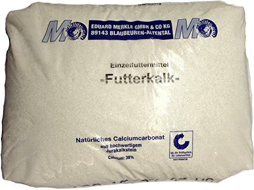 Eduard Merkle Futterkalk Futtergrit Hühnergrit Geflügelgrit Kalkgrit Korn 25 kg