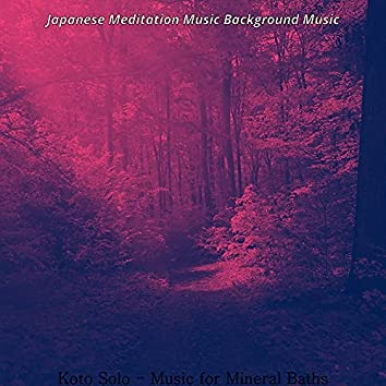 Koto Solo - Music for Mineral Baths