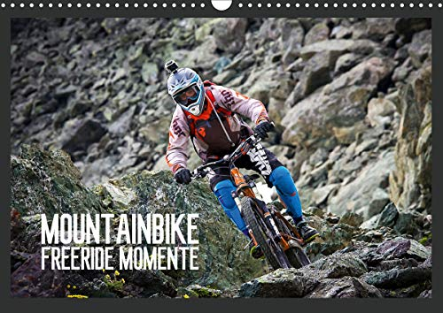 Mountainbike Freeride Momente (Wandkalender 2021 DIN A3 quer)