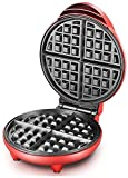 JUNJIJINGXIANG Macchine per Waffle Sandwich Machine, cialde elettrica, 1200W Waffle Uovo Torta Forno Pancake Non-Stick vaschetta di Cottura B attrezzo Muffin Sandwich