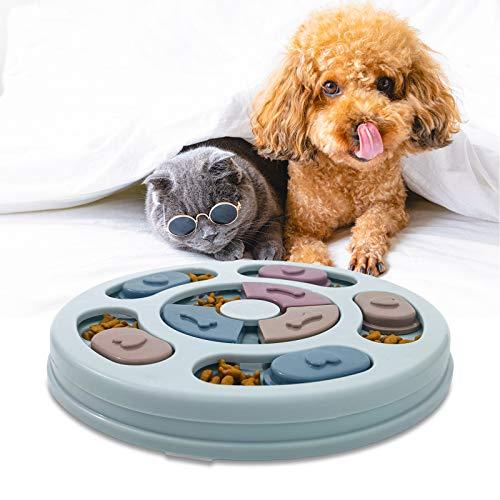 AidSci Hundespielzeug Intelligenz Hundefutter Welpenspielzeug,Verlangsamen Sie das Essen von Hundespielzeug,Anti-Rutsch-Puzzle-Spielzeug für Hunde, Welpen und Katzen