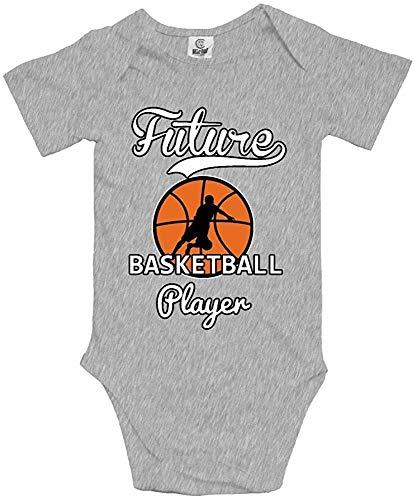 DODOD Futuro Jugador de Baloncesto Bebé recién Nacido Body Suave Ropa de baño
