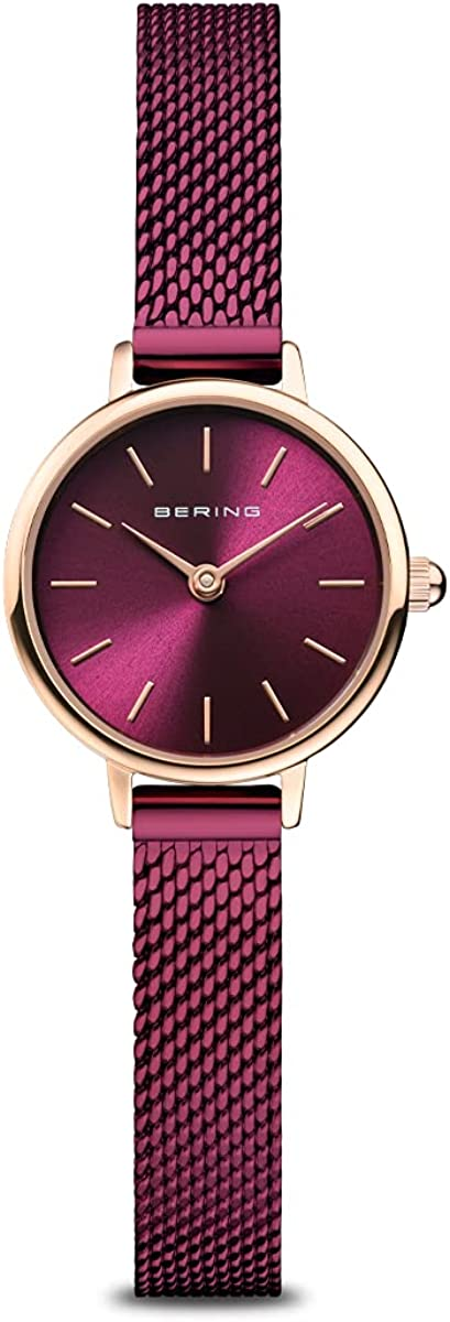 BERING Womens Analogue A surprise price is realized Quartz Classic with Stai Collection price Watch