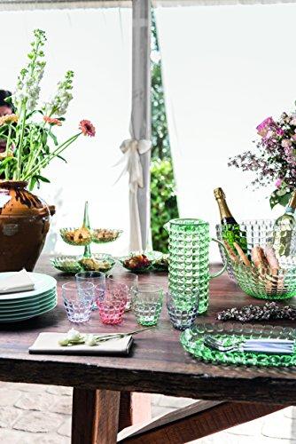 Guzzini Set 24 Posate Feeling, Verde Mela, 15.8 x 7.5 x h25.5 cm