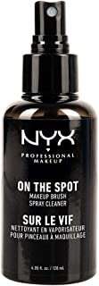 NYX PROFESSIONAL MAKEUP On The Spot Makeup Brush Cleaner Spray, 02