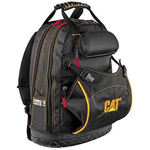 Caterpillar 980197N Pro Werkzeug-Rucksack, 45,7 cm, zur Organisation von Arbeitsplätzen und Taschen