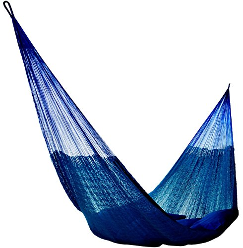 Handmade Hammocks - Hammocks Rada Handmade Yucatan Hammock - Artisan Crafted in Central America - Fits Most 12.5 Ft. - 13 Ft. Stands - Carries Up to 550 Lbs for Two