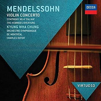 "Mendelssohn: Violin Concerto; Symphony No.4 - ""Italian""; Hebrides Overture"