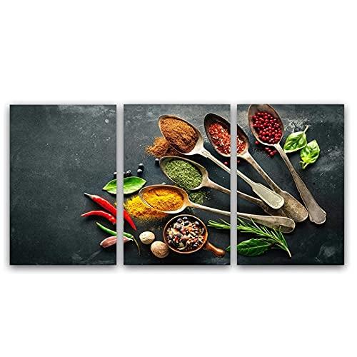 DAYINHUA Moderna HD Wall Art Stampato su Tela Pittura per la Sala da Pranzo Combinazione Still Life...