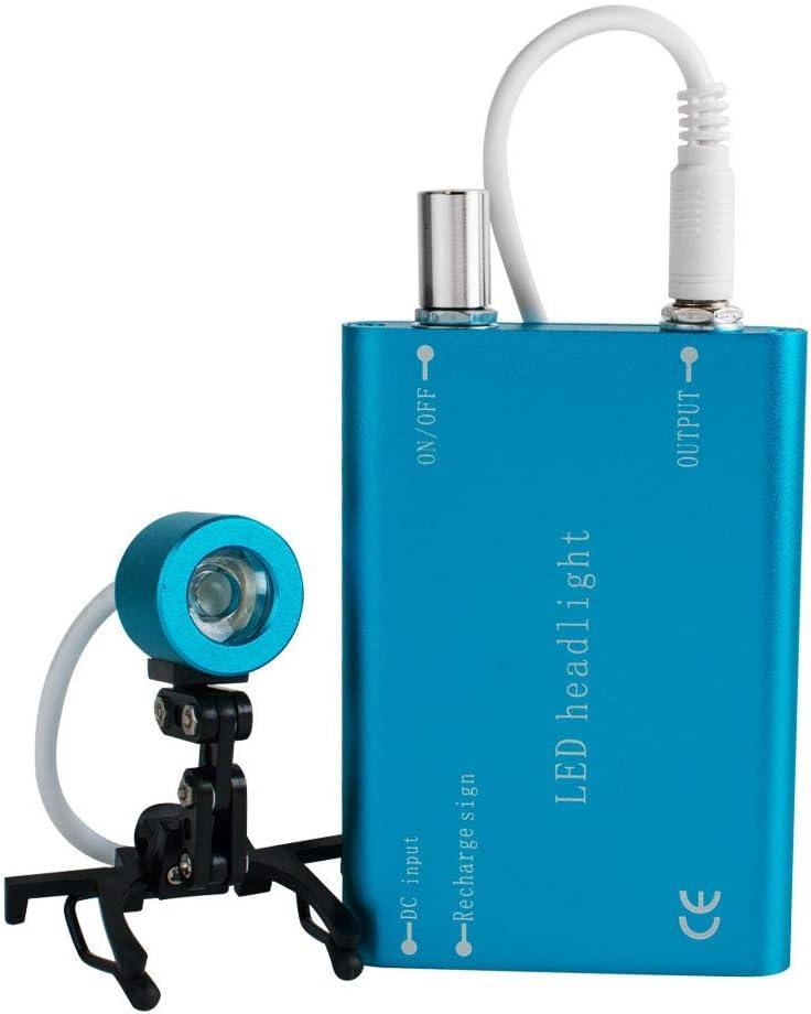 Denshine Portable Regular discount Head Light Lamp Surgical Bi for Medical Max 81% OFF Dental