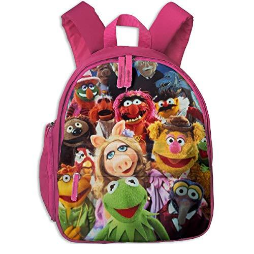 Hdadwy Der niedliche Mu-Pp-ETS Rucksack Fashion School Taschen Netter Rucksack für Jungen Mädchen, Pink, One Size
