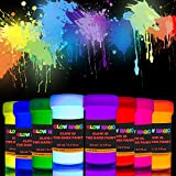 individuall Glow Magic Glow in The Dark Paint Set – 8 x 0.7 fl oz -...