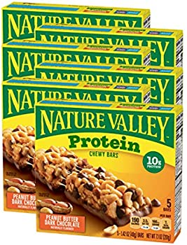 30-Count (6 x 5-Pack) Nature Valley Chewy Protein Granola Bar