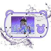 "Underwater Kids Camera, HD I080P 8X Digital Zoom,2.7"" Screen Children's Camera with Flash,Preschool Camera Toys Waterproof Camera for kids"