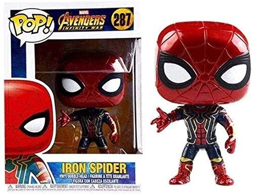 Pop Avengers Iron Man Spider-Man Thor Panther Oorlog serie Figure-Captain Pop America-Panther Pop-Panther Pop-Captain Pop Amerika-Pantera Pop 273-Pop Spiderman