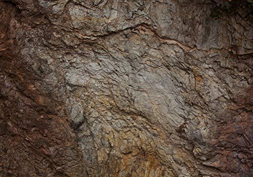 wandmotiv24 Fototapete Höhle Wand, XXL 400 x 280 cm - 8 Teile, Fototapeten, Wandbild, Motivtapeten, Vlies-Tapeten, Stein, Riss M1455