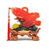 Decoración de escritorio Feng Shui Estatuas Lucky Figurine Decoración del hogar Regalo Wealth Arowan...