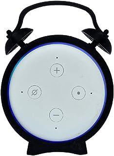 Suporte De Mesa Splin para Echo Dot 3 Amazon modelo Alarme V2.0 (Preto)
