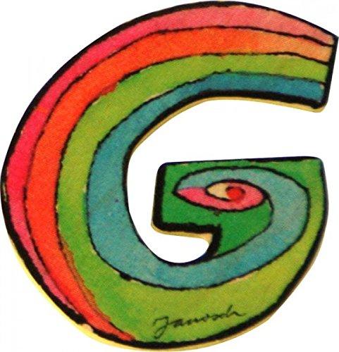 Janosch Buchstaben Holzbuchstaben G ca. 6cm